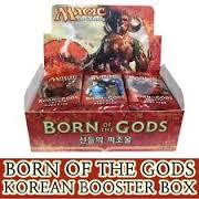 Born of the Gods - Booster Box - Korean